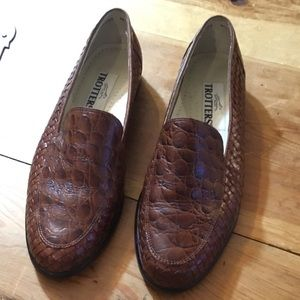 👞 TROTTERS Leather 7.5 Loafers